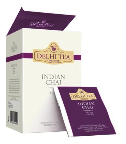 te premium delhi tea x 20 saq. indian chai