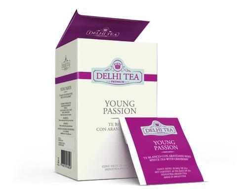 te premium delhi tea x 20 saq. young passion