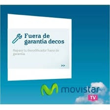 te reparamos tu deco movistar tv..