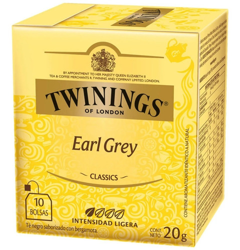 té twinings earl grey