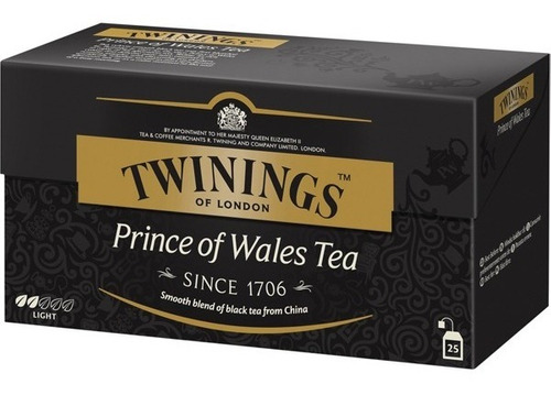 te twinings te ingles caja 25 saquitos prince of wales
