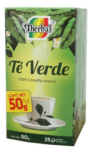 té verde (25 sobres) therbal