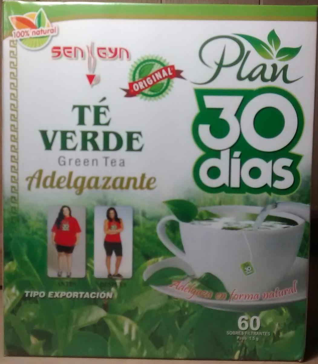 Té Verde Adelgazante Plan 30 Días - Rejuvenece La Piel - S