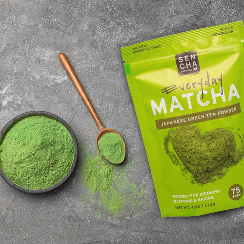 te verde matcha culinario en polvo organico sencha 113g