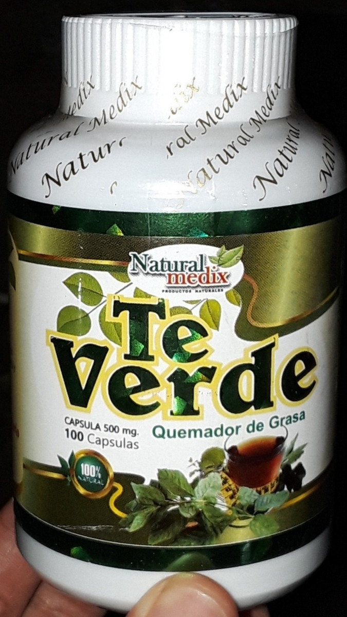 Te Verde Para Bajar Peso Adelgazar Antioxidante 100 Capsulas