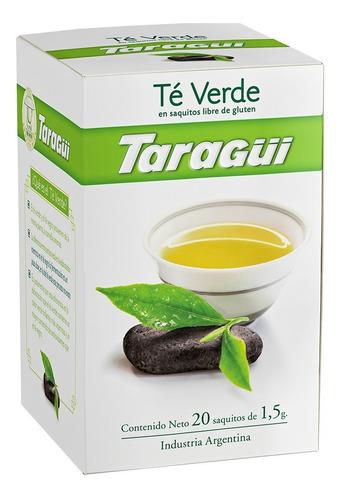 té verde taragüi