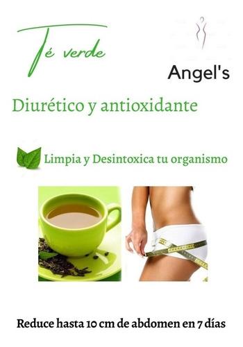 té verde, té rojo y colágeno hidrolizado