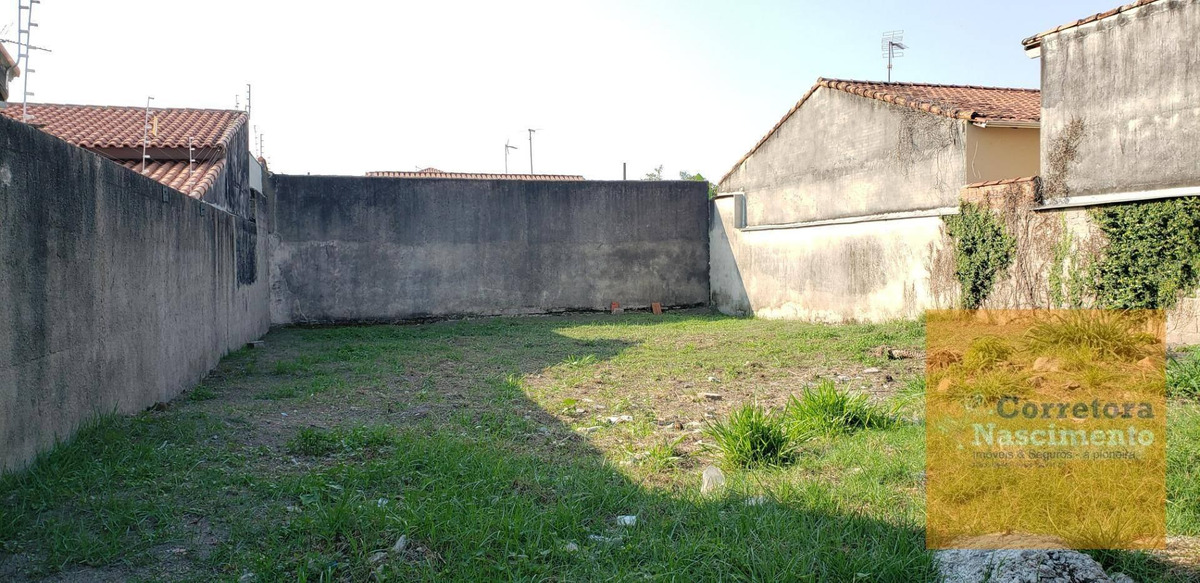 te0391- terreno 300m² todo murado no santa maria - te0391