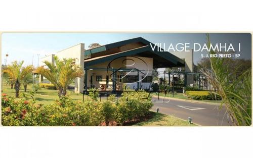 te31643,terreno condominio,são josé do rio preto - sp,bairro:cond. village damha i