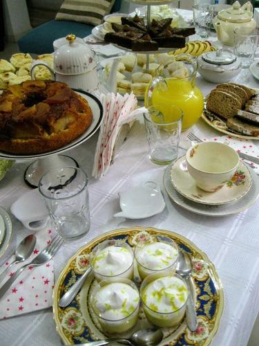 tea party especial - fiesta de té para 8 personas!
