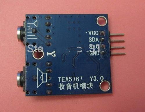 tea5767 fm radio módulo arduino 76-108mhz