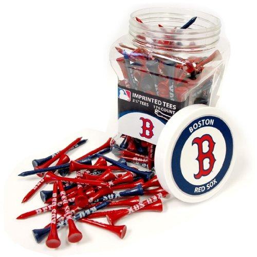 team golf mlb boston red sox 2-3 /4  tees de golf, paquete