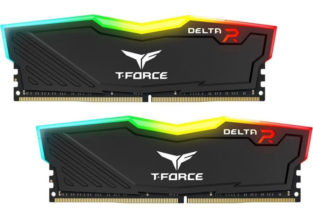 Team T-force Delta Rgb 8gb(2 X 4gb)3000mhz Ddr4 Sdram
