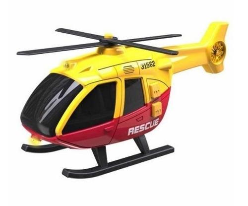 teamsterz helicoptero de policia con luz y sonido 1:36