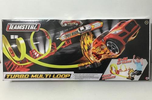 teamsterz pista de auto turbo multi loop track 14044 bigshop