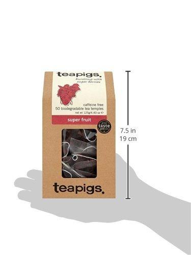 teapigs super fruit tea 50 count