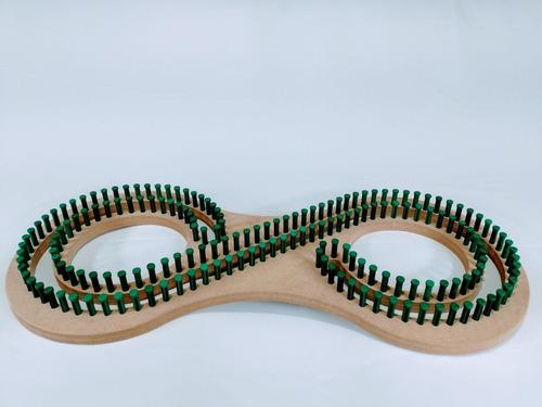 tear afegão serenity looms - pino plástico rende até 2,50m