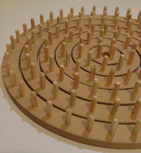 tear circular manual pino - completo 6 conjuntos + agulha