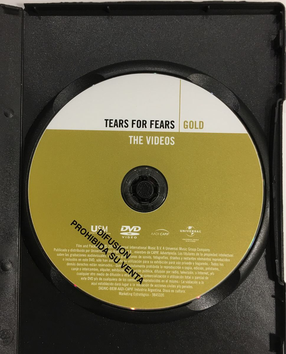 tears for fears gold the videos