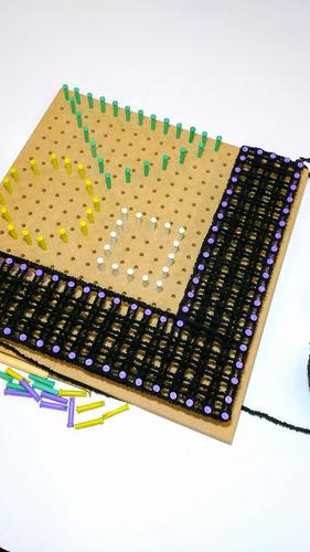 tear multifuros 150 pinos plásticos - várias possibilidades