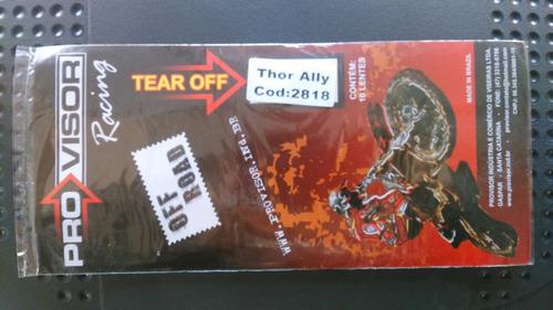 tear off thor ally -  (trilha cross) *** frete grátis ***