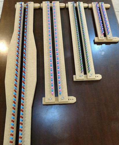 tear pinos plásticos 4pç - 100cm 70cm 50cm 27cm