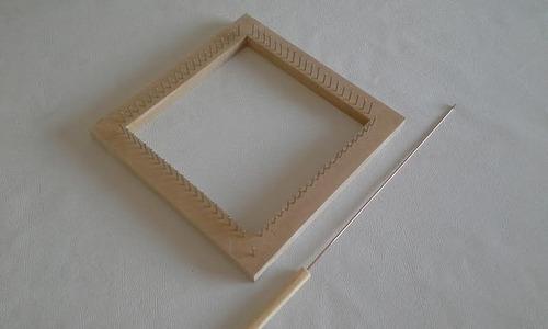 tear quadrado 20x20 - agulha gratis - total 80 pregos