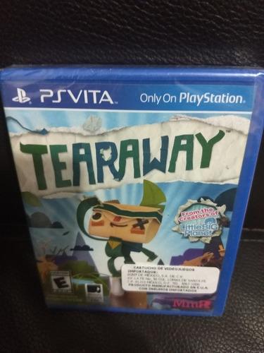 tearaway ps vita nuevo sellado