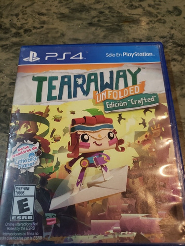 tearaway ps4 disco físico