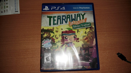 tearaway unfolded crafted edition ps4