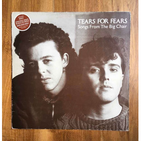 Tears For Fears - Songs From The Big Chair - Vinilo Brasil