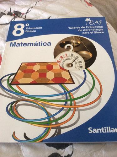 teas octavo matemáticas