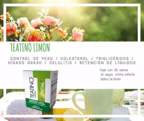 teatino limon supreme omnilife // te para adelgazar
