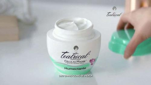 teatrical crema facial humectante celulas madre 200g