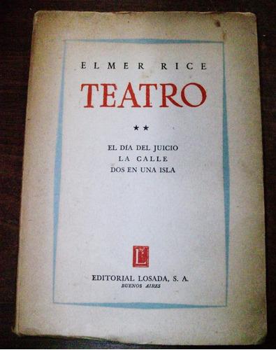 teatro 2 - elmer rice