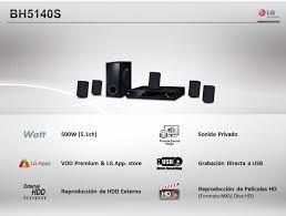 teatro casero lg 5.1 + bluray 3d + + smart + surround +new