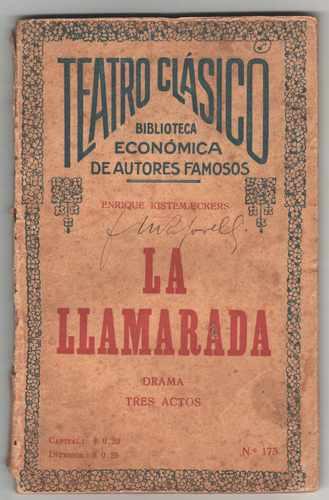 teatro clasico  la llamarada  - 1928
