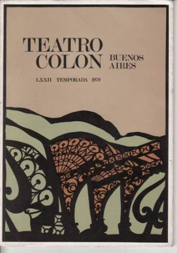 teatro colon i due foscari g. verdi temporada 1979 programa