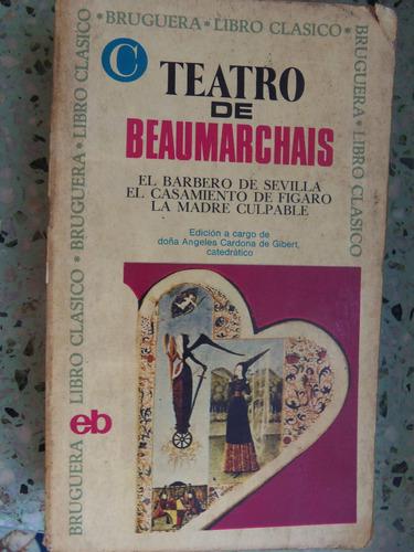 teatro de beaumarchais 5 obras con estudio barbero sevilla