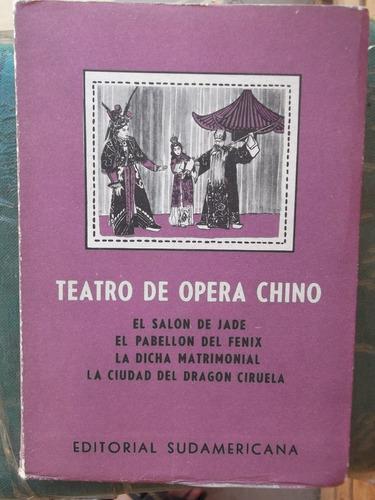 teatro de opera chino (4 obras)