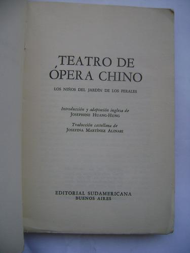 teatro de ópera chino : la ciudad del dragón ciruela