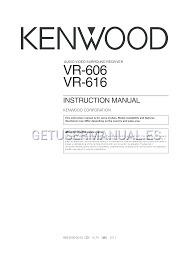 teatro en casa kenwood vr-616