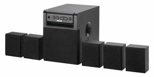 teatro en casa rca rt151 5.1 canales 80 watts dvd cd