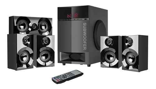 teatro en casa sistema 5.1 bluetooth usb 115 wats