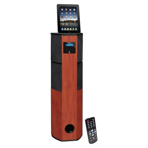 teatro en casa vertical con conexion ipad ipod iphone pyle