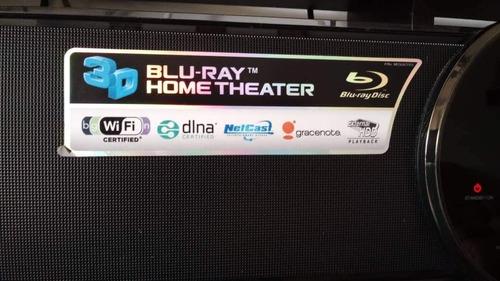 teatro en casa y blu-ray lg 2.1 inalambrico  lg hlx55w 400$