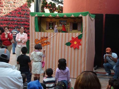 teatro guiñol profesional musical, para chicos y grandes