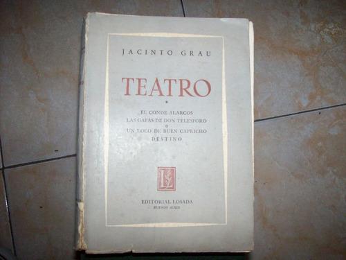 teatro i por jacinto grau