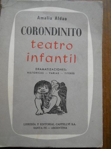 teatro infantil. corondinito. amalia aldao.