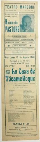 teatro marconi antiguo programa 1940 (a)